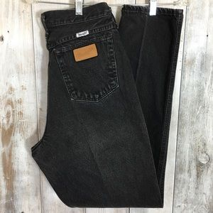 Vintage Wrangler Mom Jeans High Rose Booty 11/12